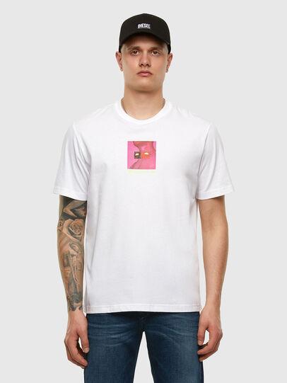 Diesel - T-JUST-X64, Weiß - T-Shirts - Image 5