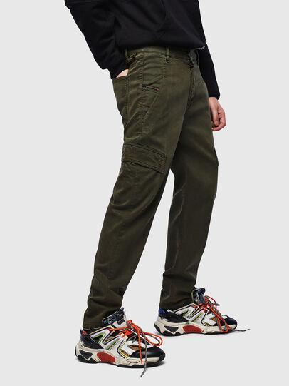 Diesel - D-Krett JoggJeans 069LX, Armeegrün - Jeans - Image 4
