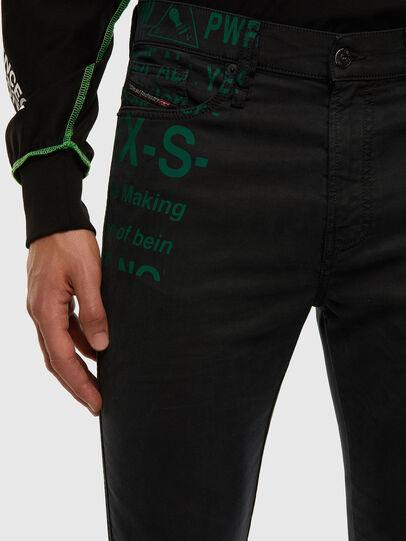 Diesel - D-REEFT JoggJeans® 009HD, Schwarz/Dunkelgrau - Jeans - Image 3