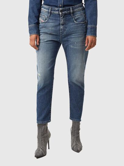 Diesel - Fayza 09A54, Mittelblau - Jeans - Image 1