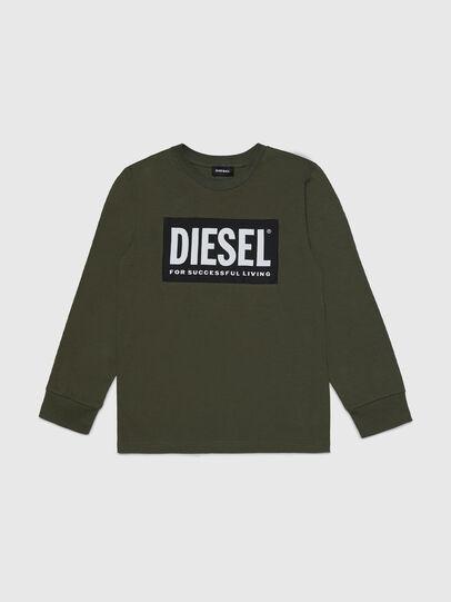 Diesel - TUSTY ML, Armeegrün - T-Shirts und Tops - Image 1