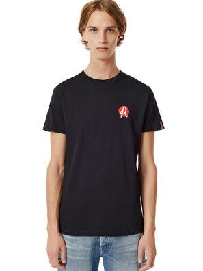 LR-T-DIEGO-VIC, Schwarz - T-Shirts