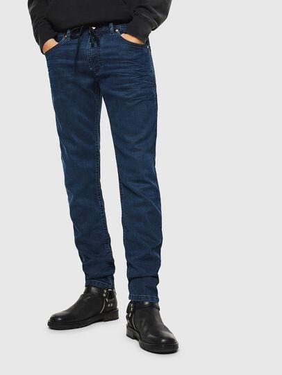 Diesel - Thommer JoggJeans 0688J, Dunkelblau - Jeans - Image 1