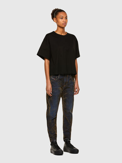 Diesel - Fayza 069RQ, Blau/Gelb - Jeans - Image 6