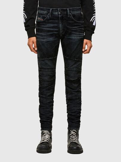 Diesel - D-Strukt JoggJeans® 069TG, Schwarz/Dunkelgrau - Jeans - Image 1
