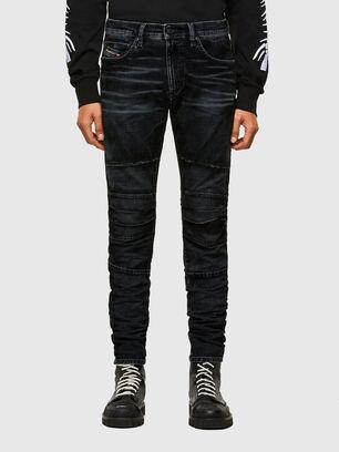D-Strukt JoggJeans® 069TG, Schwarz/Dunkelgrau - Jeans