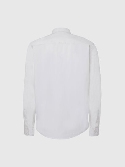 Diesel - S-ALLEN-KA, Weiß - Hemden - Image 2