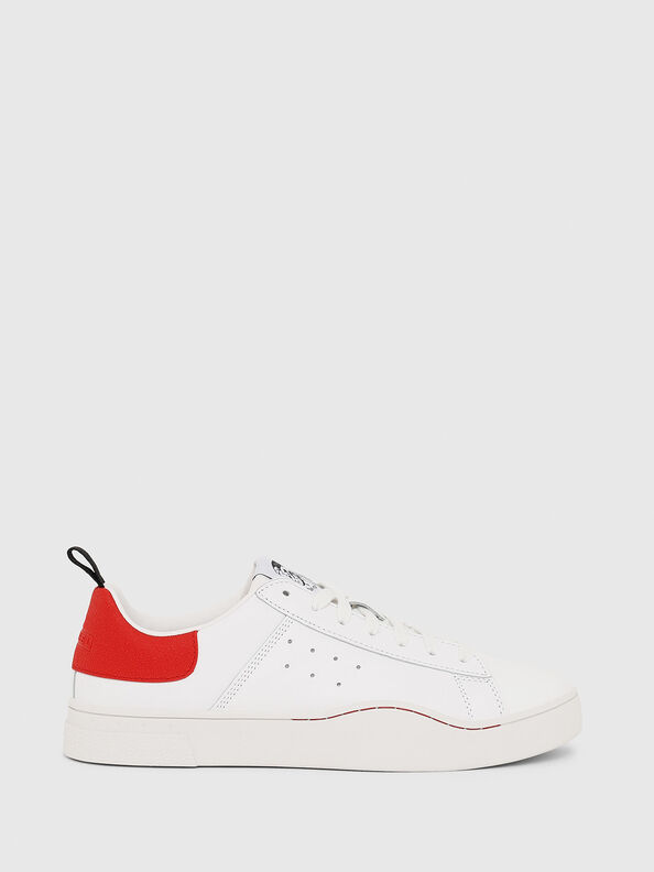 S-CLEVER LOW, Weiß/Rot - Sneakers