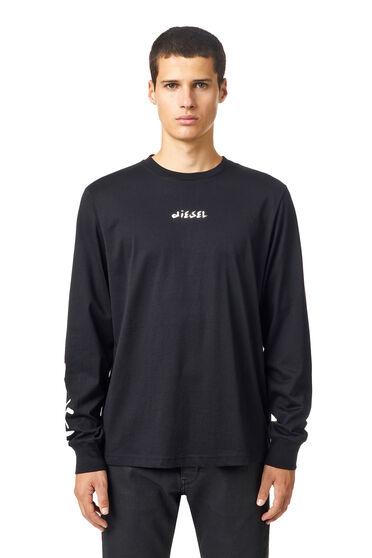 T-Shirt mit Clean Galaxy-Print