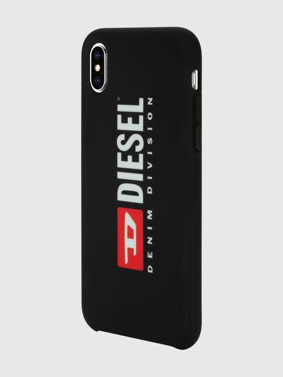 Diesel - DIESEL PRINTED CO-MOLD CASE FOR IPHONE XS MAX, Schwarz/Weiß - Schutzhüllen - Image 5