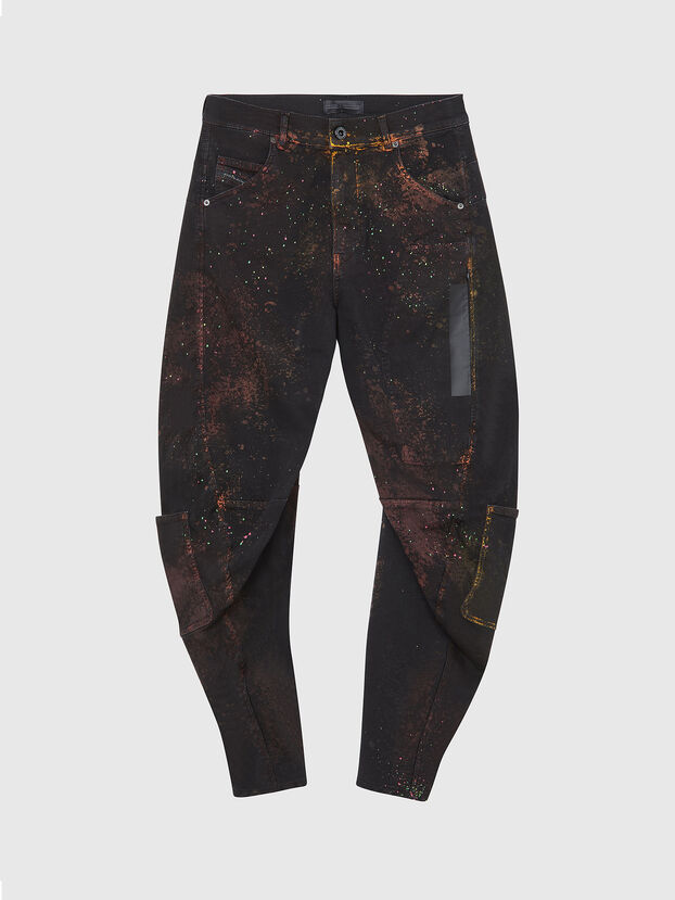 TYPE-2018-NE, Schwarz/Dunkelgrau - Jeans