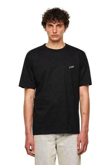 T-Shirt aus Baumwolle mit Palmenprint