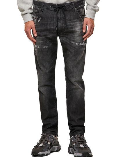 Diesel - Krooley JoggJeans® 09B53, Schwarz/Dunkelgrau - Jeans - Image 1