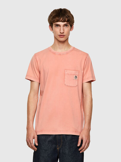 Diesel - T-WORKY-MOHI-B1, Rosa - T-Shirts - Image 1