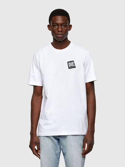 Diesel - T-JUST-LAB, Weiß - T-Shirts - Image 1