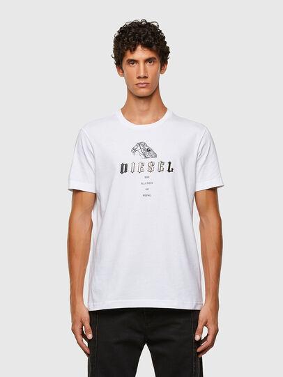 Diesel - T-DIEGOS-N30, Weiß - T-Shirts - Image 1