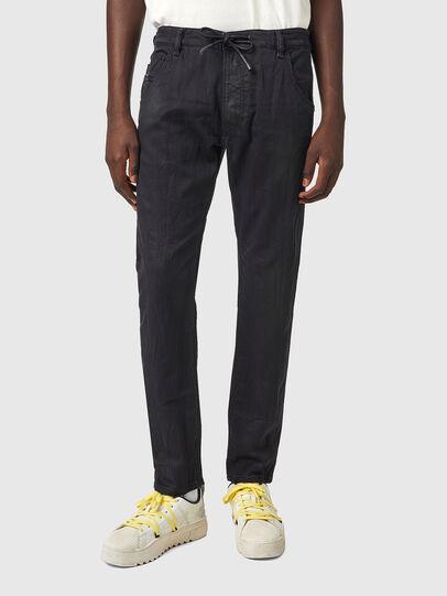 Diesel - Krooley JoggJeans® 069WW, Schwarz/Dunkelgrau - Jeans - Image 1
