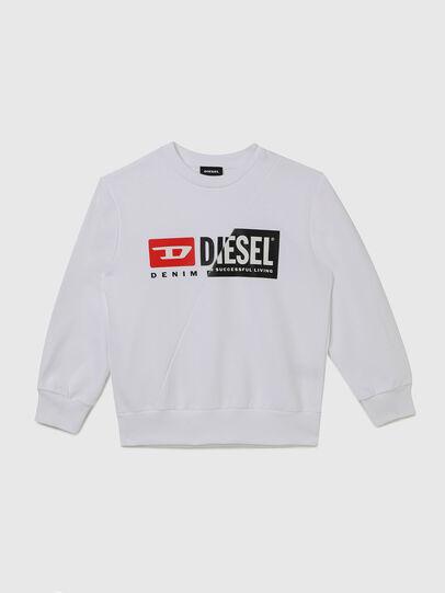 Diesel - SGIRKCUTY OVER, Weiß - Sweatshirts - Image 1