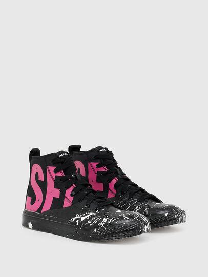 Diesel - S-ASTICO MC W, Schwarz/Rosa - Sneakers - Image 2