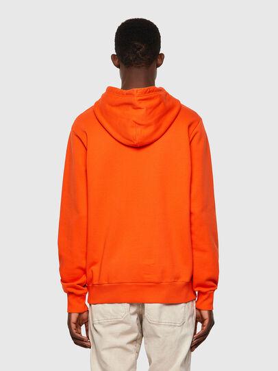 Diesel - S-GIRK-HOOD-B4, Orange - Sweatshirts - Image 2