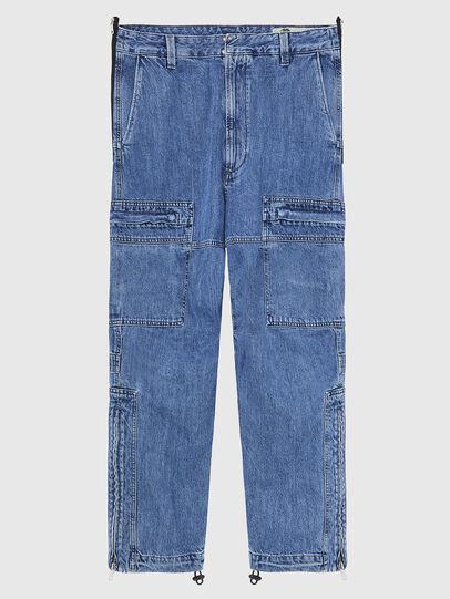 Diesel - D-Luks 009CL, Hellblau - Jeans - Image 1