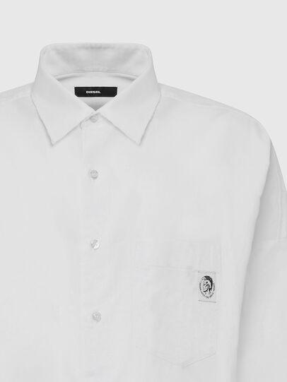 Diesel - S-LOOMY-A, Weiß - Hemden - Image 3