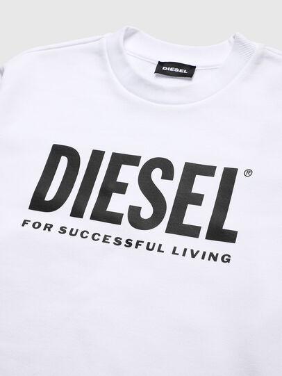 Diesel - SCREWDIVISION-LOGO O, Weiß - Sweatshirts - Image 3