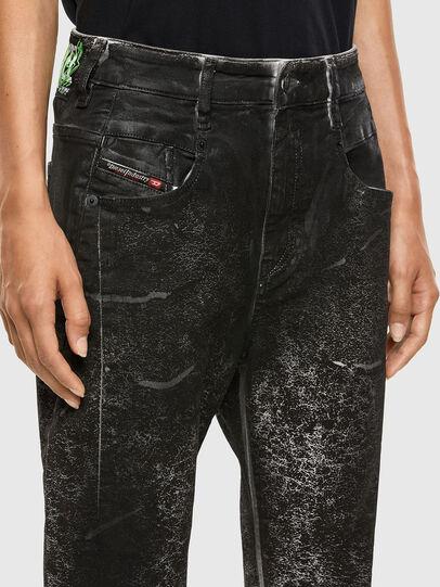 Diesel - Fayza 009DL, Schwarz/Dunkelgrau - Jeans - Image 3