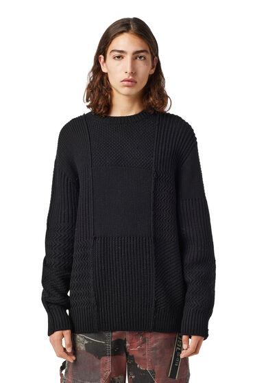 Pullover im Strukturstrick aus Merinowolle