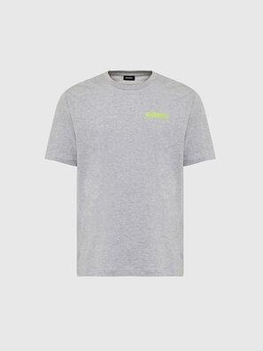 T-JUST-SLITS-X84, Grau - T-Shirts