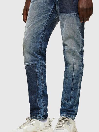 Diesel - D-Strukt 009NI, Mittelblau - Jeans - Image 4