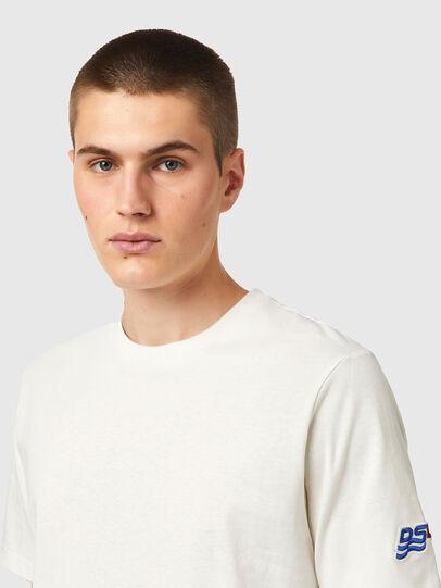 Diesel - T-JUST-B67, Weiß - T-Shirts - Image 3