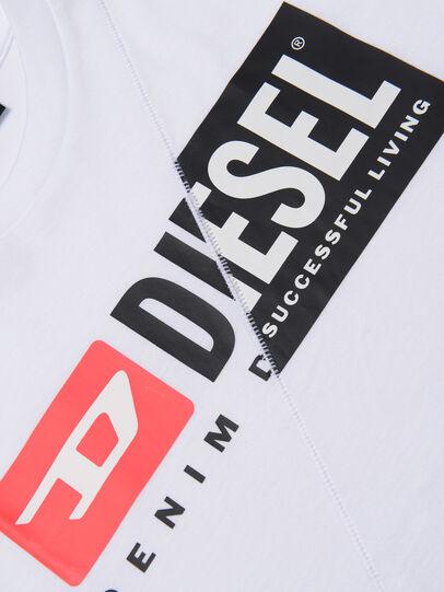 Diesel - TDIEGOCUTY, Weiß - T-Shirts und Tops - Image 3