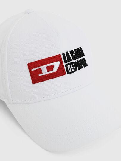 Diesel - LCP-CAP, Weiß - Hüte - Image 3