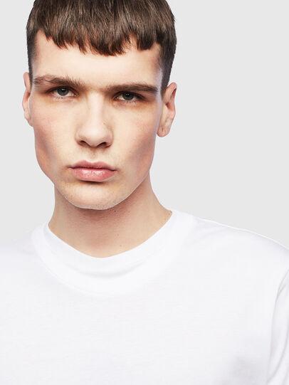 Diesel - T-HUSTY-LS, Weiß - T-Shirts - Image 5