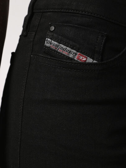 Diesel - Skinzee 0813E, Schwarz/Dunkelgrau - Jeans - Image 4