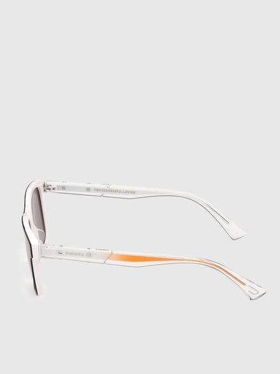 Diesel - DL0279, Weiß/Orange - Sonnenbrille - Image 3