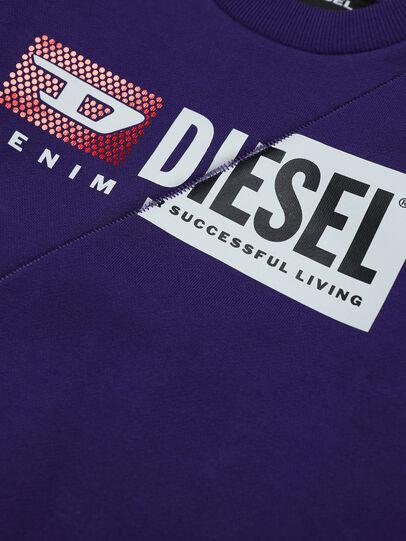Diesel - SGIRKCUTYB-FL, Violett - Sweatshirts - Image 3