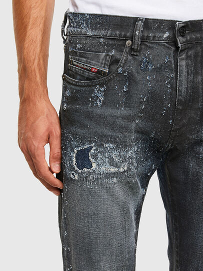 Diesel - D-Strukt 009JQ, Dunkelblau - Jeans - Image 3