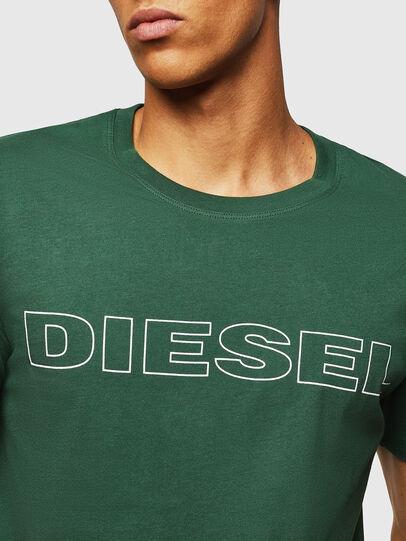 Diesel - UMLT-JAKE, Dunkelgrün - T-Shirts - Image 3