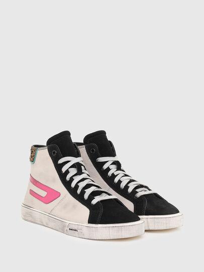 Diesel - S-MYDORI ML W, Rosa/Schwarz - Sneakers - Image 2