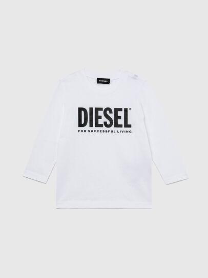 Diesel - TJUSTLOGOB ML-R, Weiß - T-Shirts und Tops - Image 1