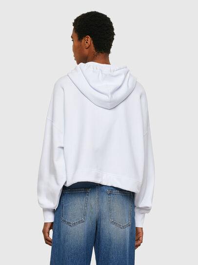 Diesel - F-CROPPY, Weiß - Sweatshirts - Image 2