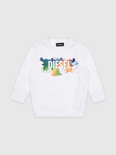 Diesel - SCREWDOSKYB-R, Weiß - Sweatshirts - Image 1