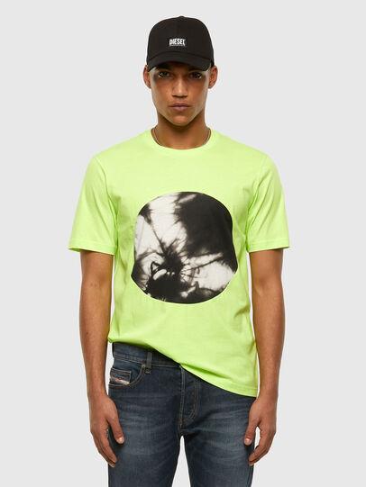 Diesel - T-MOONY-X2, Neongrün - T-Shirts - Image 5