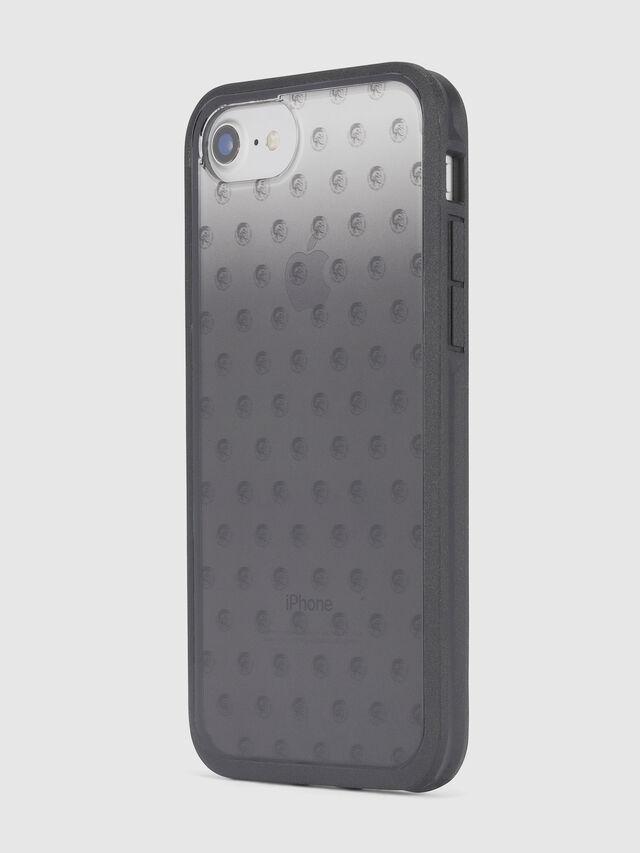 MOHICAN HEAD DOTS BLACK IPHONE 8 PLUS/7 PLUS/6s PLUS/6 PLUS CASE, Schwarz