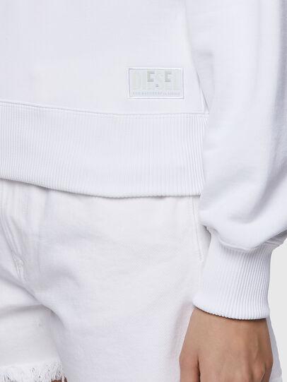 Diesel - F-LYM-HOOD-C.C, Weiß - Sweatshirts - Image 4