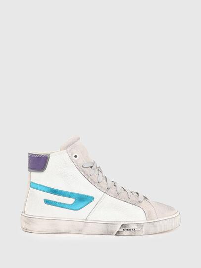 Diesel - S-MYDORI ML W, Weiss/Blau - Sneakers - Image 1