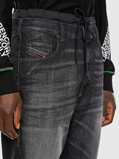 Diesel - D-Skint JoggJeans 069PC, Schwarz/Dunkelgrau - Jeans - Image 3