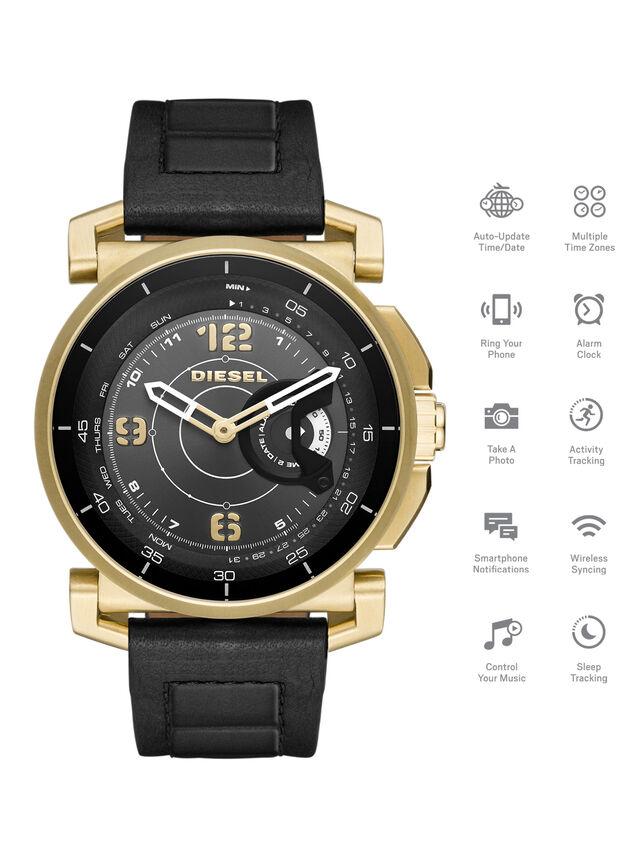 Diesel - DT1004, Schwarz - Smartwatches - Image 1